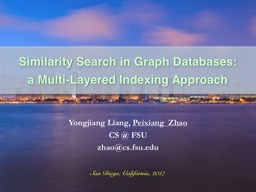 Similarity Search in Graph Databases: