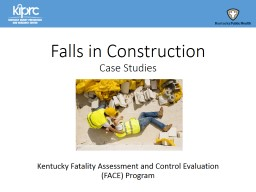 Falls in Construction PowerPoint PPT Presentation