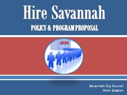 Hire Savannah