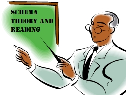 Schema theory and reading