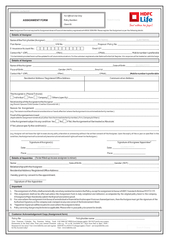 Note Assignment Form not required for Assignment done