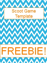 Scoot Game Template