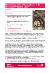 Factsheet  Crime and punishment can be part of family PowerPoint PPT Presentation
