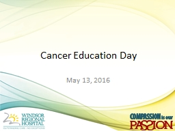 Cancer Education Day