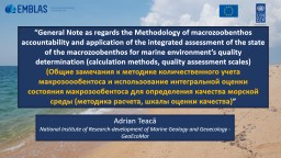 """ General Note as regards the Methodology of"