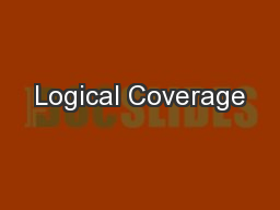 Logical Coverage