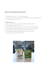 table tent template instructions
