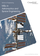 MSC in astronautics and space engineering