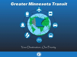 Greater Minnesota Transit