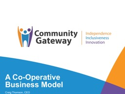 A Co-Operative Business Model