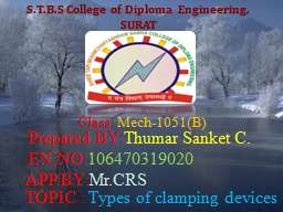 S.T.B.S College of Diploma Engineering,