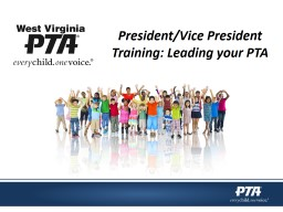 President/Vice President Training: Leading your PTA PowerPoint PPT Presentation