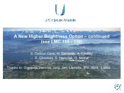 A New Higher Brightness PowerPoint PPT Presentation