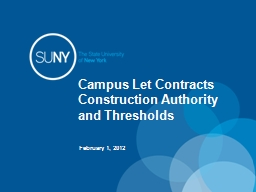 Campus Let Contracts