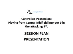 Controlled Possession:
