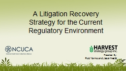 A Litigation Recovery