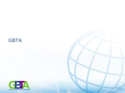 GBTA Board of Directors and Committees