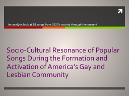Socio-Cultural Resonance of Popular Songs During the Format