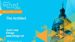 The Architect PowerPoint PPT Presentation