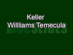 Keller Willliams Temecula