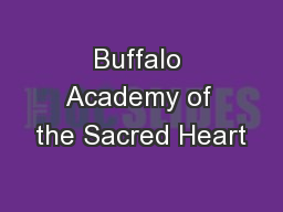 Buffalo Academy of the Sacred Heart