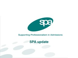 Using admissions to bridge the gap for care leavers PowerPoint PPT Presentation
