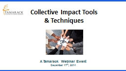 Collective Impact Tools