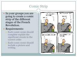 Comic Strip
