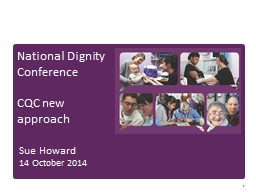 1 National Dignity Conference PowerPoint PPT Presentation