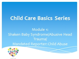 Child Care Basics Series