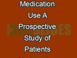 The Effect of Sunlight on Postoperative Analgesic Medication Use A Prospective Study of Patients Undergoing Spinal Surgery EFFREY M