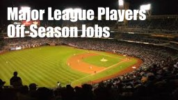 Major League Players