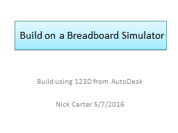 Build on a Breadboard Simulator