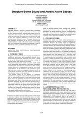 Proceedings of the International Conference on New Int