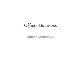 Officer Business PowerPoint PPT Presentation