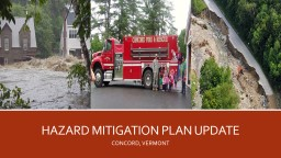 HAZARD MITIGATION PLAN UPDATE