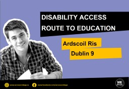 DISABILITY ACCESS ROUTE TO EDUCATION PowerPoint PPT Presentation