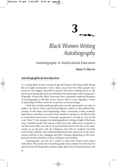 Black Women Writing Autobiography Autobiography in Mul