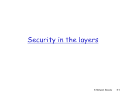 8: Network Security PowerPoint Presentation, PPT - DocSlides