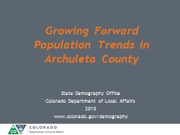State Demography Office