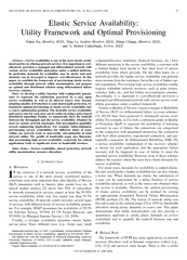 IEEE JOURNAL ON SELECTED AREAS IN COMMUNICATIONS VOL