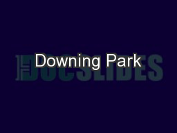 Downing Park