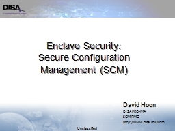 Enclave Security:
