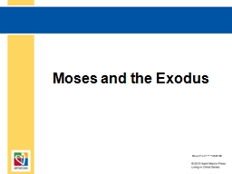 Moses and the Exodus PowerPoint PPT Presentation