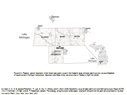 Figure 3.1. Property parcel locations (small black polygons
