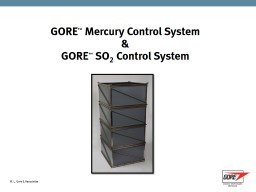Sorbent Polymer Composite Mercury and SO