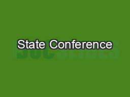 State Conference