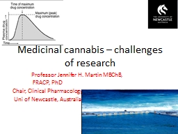 Medicinal cannabis – challenges of research
