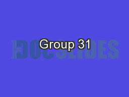 Group 31