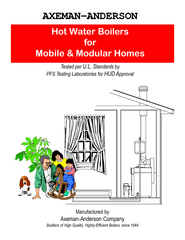 AXEMANANDERSON  MPO Series Hot Water Boilers New Lifet
